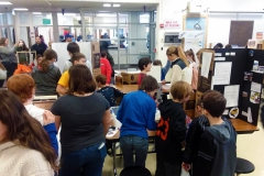 Photo  of the Science Fair.