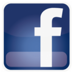 Logo for the Social Media site known as Facebook.