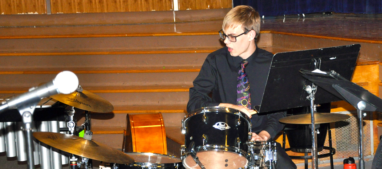Photo of the Drummer.