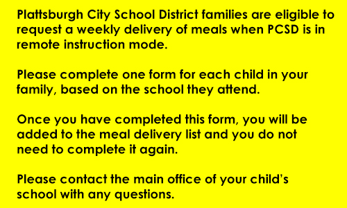 Application for student meal delivery link