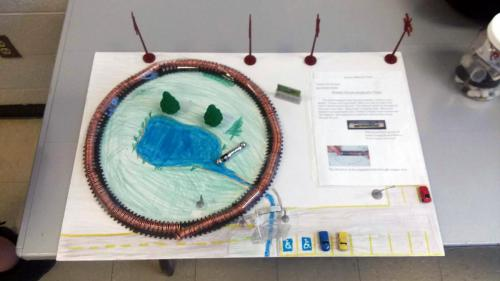 Photo of a Science Project.
