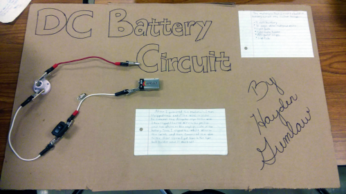 A Battery Circuit Project